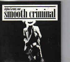 Alpha Kenny One Smooth Criminal cd maxi single cardsleeve eurodance Belgium