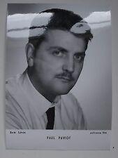 Paul Paviot, cliché de Sam Lévin, tirage argentique d'époque. Unifrance Film