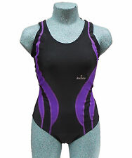 ACCLAIM Mexico Ladies Girls Racer Back Swimming Costume Swim Suit 20% Lycra 2016