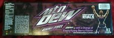 MOUNTAIN DEW RYSE (1) FULL SINGLE CAN MTN GAME FUEL ELECTRIFYING BERRY