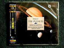 """Holst - The Planets"" Simon Rattle Philharmonia Orch. - Japanese Audiophile HQCD"