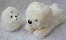 Hokkaido Zoo Japan White Seal & Polar Bear Soft Plush Toy Bundle Job Lot Kawaii