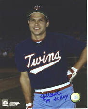 John Castino Minnesota Twins Autographed Signed 8x10 Photo #2 COA ROY