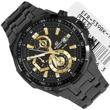 Casio  Edifice Men's Wristwatch  - EF-539bk FULL BLACK  CHRONOGRAPH