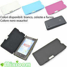 CUSTODIA COVER CASE A LIBRO PER NOKIA LUMIA 520 N520