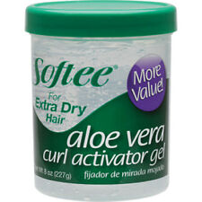 Softee Aloe Vera Curl Activator Gel For Extra Dry Hair Formualr Hairstyle 8oz