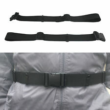 One Backpack Waist Belt Backpack Waist Strap Universal Fit with Buckle - Black