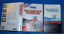 Golden Axe Warrior Sega Master System Complete CIB English ver No UPC US Seller!