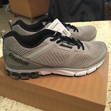 REEBOK MEN'S NIB JET DASHRIDE GRAY RUNNING SHOES SIZE 12  NEW