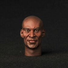 "12"" Figure HEADPLay Spartacus:Blood and Sand Doctore Peter Mensah 1/6 Model Head"