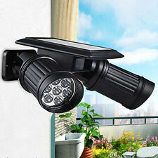 Solar sensor 14-LED Spotlight PIR Sensor Wall Lamp Outdoor security light Adjust