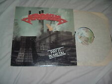 KROKUS Pay It In Metal '78 Swiss metal LP RARE album US FACTORY cover