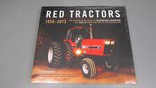 Red Tractors 1958-2013 Hardcover Book by Lee Klancher Case IH
