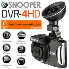 """NEW 2016"" SNOOPER DVR-4HD DASH WITNESS CAMERA & GPS SPEED TRAP CAMERA DETECTOR"