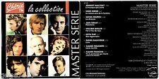 CD  master serie PROMO,LOGO CHERIE FM, CLAUDE FRANCOIS, JOHNNY HALLYDAY, FERRER