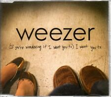 WEEZER - [IF YOU'RE WONDERING IF I WANT YOU TO] - RARE PROMO CD SINGLE - MINT