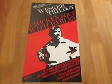 WESKER Trilogy CHICKEN Soup with BARLEY Shaw Theatre LONDON Original Poster