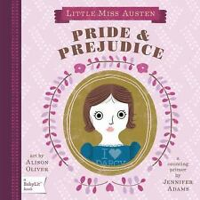 Little Miss Austen Pride & Prejudice Counting Primer Board Book Jennifer Adams