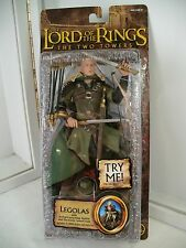 Lord of the Rings ~The Two Towers~Legolas w/electronic sound base~MOC Brown