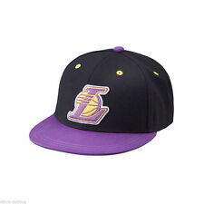 ADIDAS ORIGINALS NBA LA LAKERS FITTED CAP SIZE M
