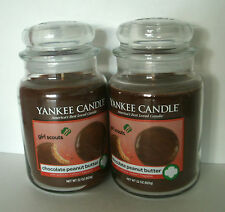 2 Yankee Candle 22 oz. Jars Girl Scouts Chocolate Peanut Butter Free Shipping