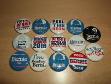 BERNIE SANDERS button badge pin 2016 Election democrat feel the bern president