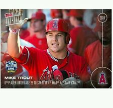 2016 Topps Now Mike Trout All Star #AS-2 ~ FREE SHIPPING