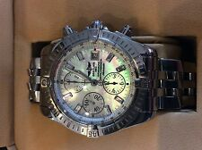 Breitling Chronomat Evolution MOP Mother of Pearl and Diamond Dial A13356