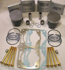 **SALE** PISTON CYLINDER REPAIR FIX KIT 08-09 POLARIS 800 RMK PRO ASSAULT DRAGON