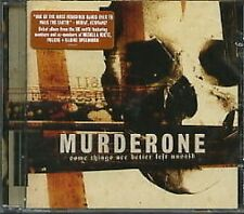 Murder One Some Things Are Better Left Unsaid CD NEW SEALED 2006 Death Metal