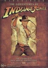 Indiana Jones (DVD, 2003, 4-Disc Set)