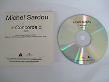 "MICHEL SARDOU - RARE CD SINGLE PROMO ""CONCORDE"""