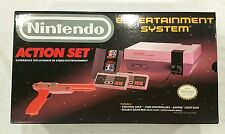 Nintendo Entertainment System Action Set - 100% BRAND NEW UNUSED RED Zapper Set