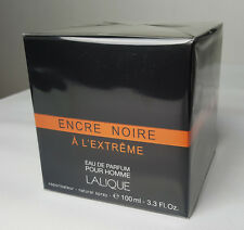 Encre Noire A L'extreme by Lalique 3.3 / 3.4 oz Eau De Parfum Spray for Men NIB