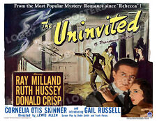 THE UNINVITED LOBBY CARD POSTER HS 1944 RAY MILLAND RUTH HUSSEY DONALD CRISP