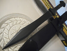 "United Combat Commander Gladiator Sword Knife Dual Edge Full Tang 1060 CS 24"" OA"