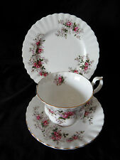 Sehr dekoratives 3tlg.Porzellan Kaffeegedeck Royal Albert Lavender Rose (A477)