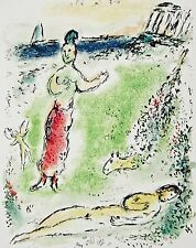 Athena Puts Ulysses to Sleep (The Odyessy) 1989, Ltd Ed Litho, Marc Chagall
