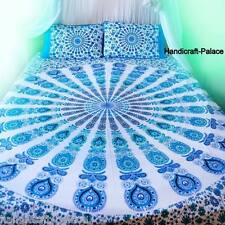 Hippie Bohemian Bedding Set Indian Queen Size Bedspreads Mandala Tapestry Throw