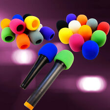 HotSale Colorful Multi Color Handheld Stage Microphone Windscreen Foam Mic Cover