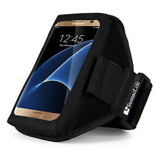 Sumaclife Neoprene Gym Sport Armband Case for Samsung Galaxy S7 Edge / Galaxy J3