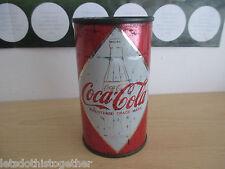 ULTRA RARE!! Coca Cola COKE VINTAGE British Mid 1960's Metal DIAMOND Can RETRO!!