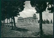 Salerno Capaccio Paestum Tempio di Cerere Foto FG cartolina VK3018