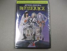 Beetlejuice 20th Anniversary DVD Factory Sealed