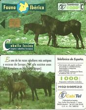 RARE / CARTE TELEPHONE - CHEVAL CHEVAUX : HORSE