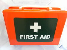 Orange Travel Vehicle First Aid Case with Fixing Bracket - Empty