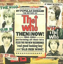 Then and Now: 1964-2004 by The Who Japan Import (CD, Nov-2008, Universal) NEW!