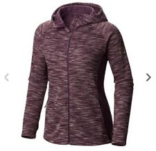 NWT Columbia Hooded Zip Womens 'Optic Got It' Jacket Purple Size S