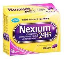 Nexium 24 HR 20mg Acid Reducer Tablet 42 ea (Pack of 3)