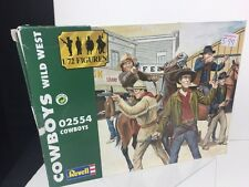 Revell 2554 cowboys wild west outlaws 1:72 plastic figures